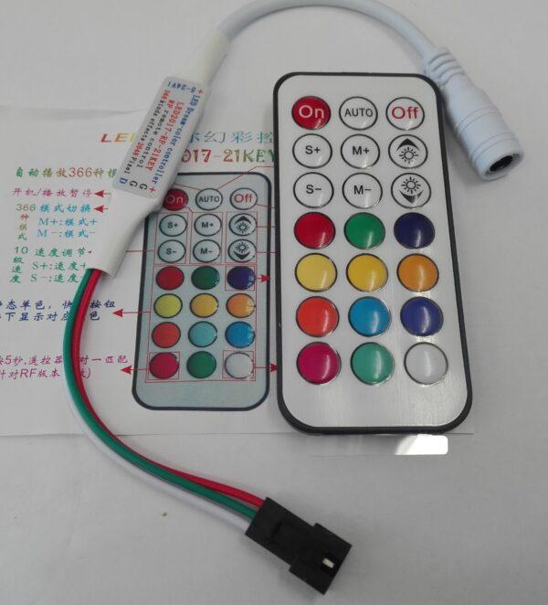 Контроллер RF KEY 21 RGB mini IC