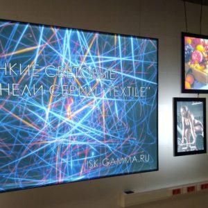 Тонкие световые панели Krystal, Clik, Magnetik, Textile (для помещений)